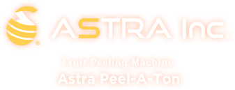 ASTRA Inc. Fruit Peeling Machine Astra Peel-A-Ton